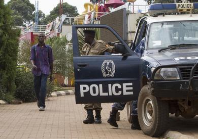 الشرطة في الصومال