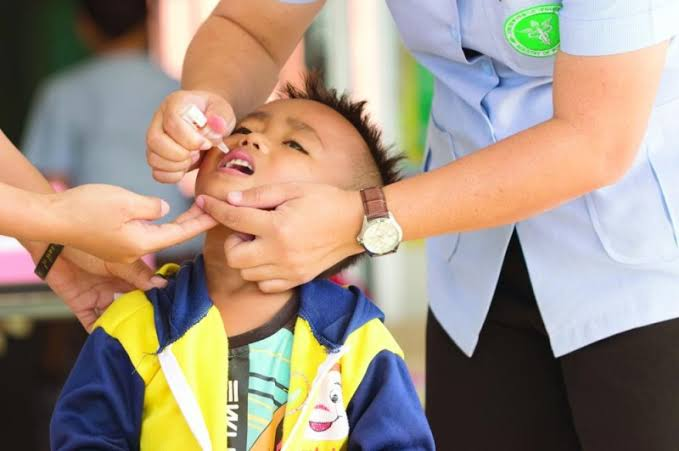 شلل الأطفال في الفلبين