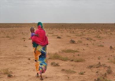 الجفاف في قارة إفريقيا