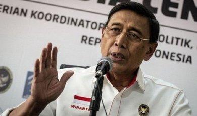 وزير الأمن الإندونيسي ويرانتو