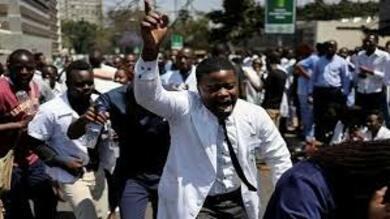 إضراب الأطباء فى زيمباوي
