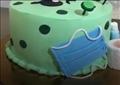 كعكة كورونا