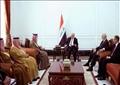 الجبير التقى خلال زيارته برئيس الوزراء العراقي حيدر العبادي ونظيره العراقي إبراهيم الجعفري.