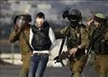اعتقال فلسطينيين