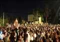تونسيون يحتفلون بقرارات سعيد