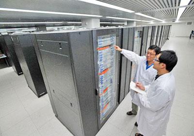 ألف تريليون عملية فى الثانية  Supercomputer