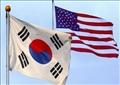 علم كوريا الجنوبية وأمريكا