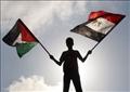 علم مصر وفلسطين