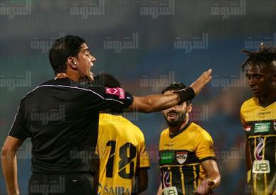 إبراهيم نورالدين فى مباراة الأهلي والإنتاج الحربي .. تصوير أحمد عبدالجواد