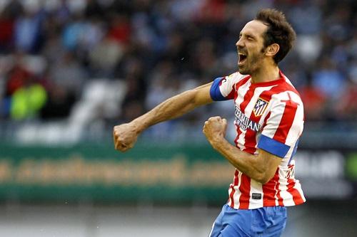 أتلتيكو مدريد يكرم خوانفران قبل رحيله عن النادي