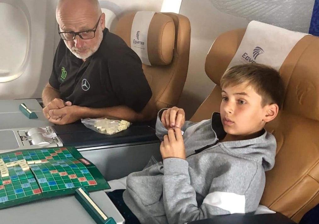 على سلامة يغادر إلى أمستردام للمشاركة فى بطولة هولندا للجولف