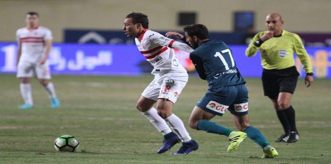 موعد مباراة الزمالك ومصر المقاصة اليوم الخميس في الدوري