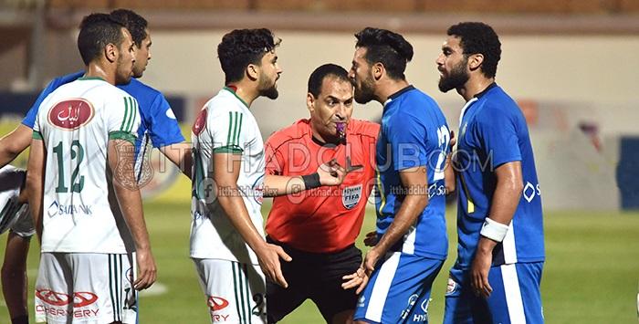 الاتحاد السكندري يحتج على حكم مباراة سموحة