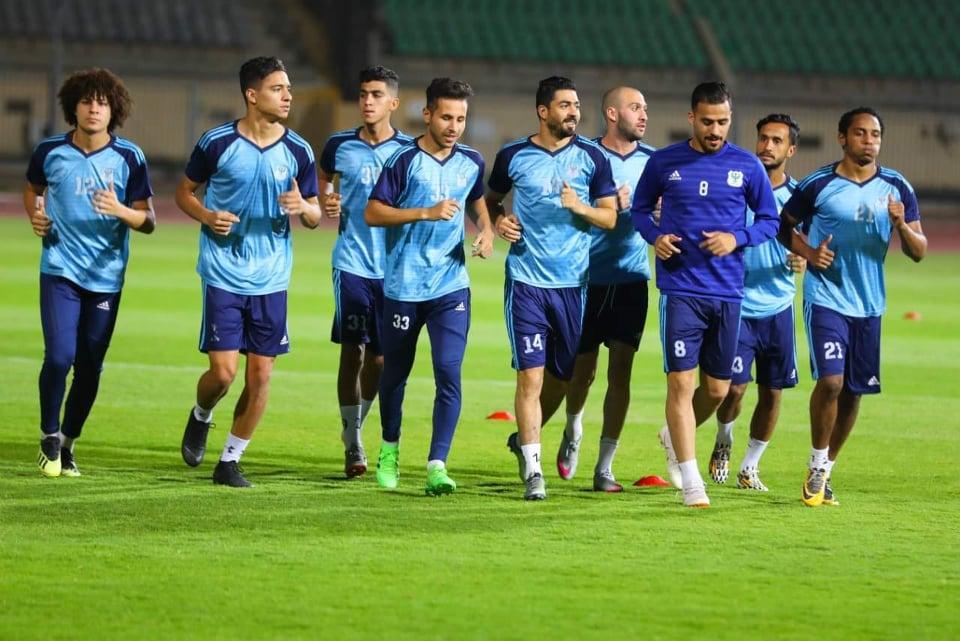 المصري يبدأ تحضيراته لمباراة الجولة الأخيرة بالدوري أمام الداخلية
