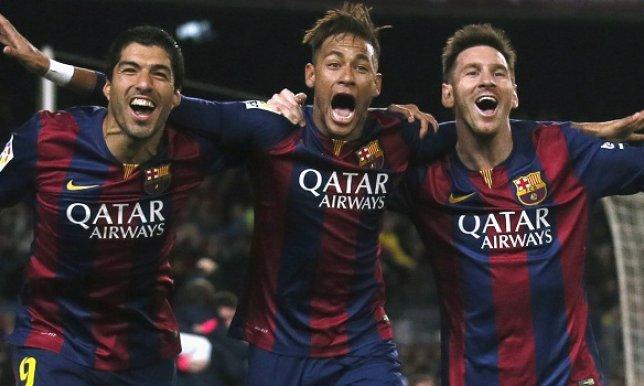 ثلاثي هجوم برشلونة سجل أهدافاً أكثر من الريال في 2015