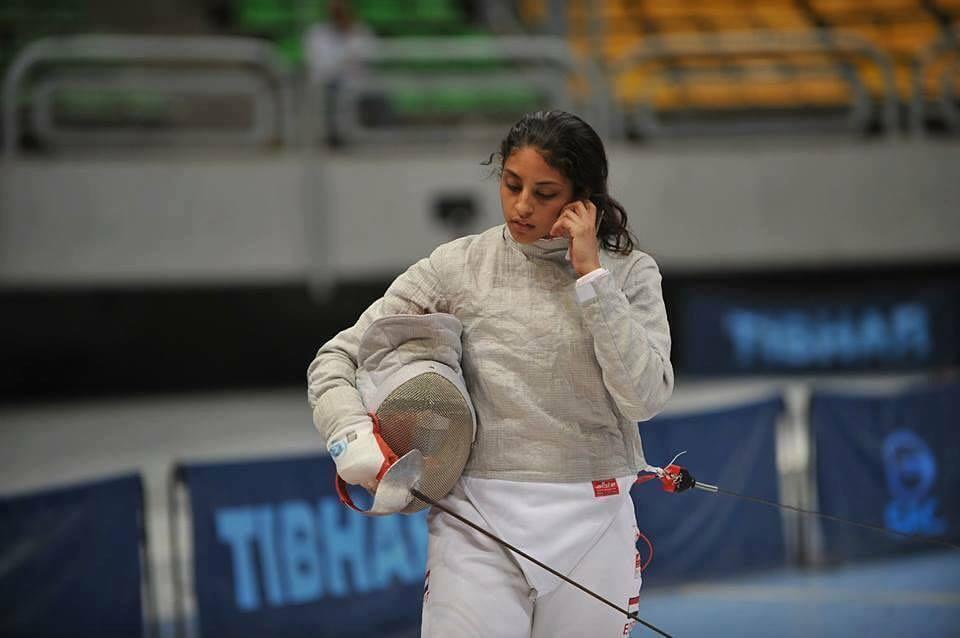 أولمبياد طوكيو ..ندى حافظ تودع منافسات فردي السلاح من دور الـ 32