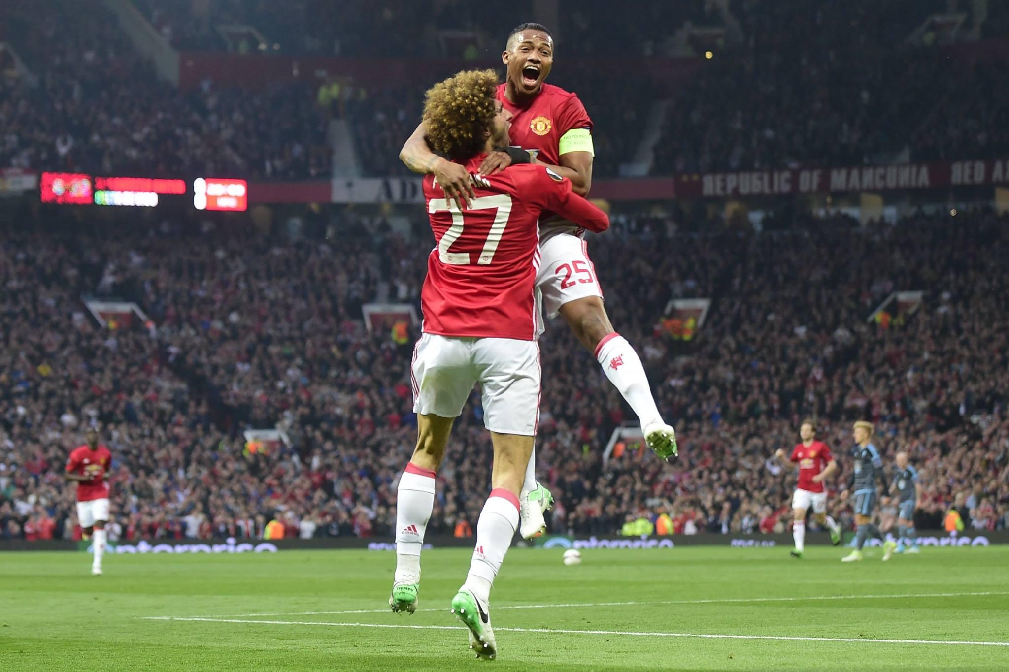 مانشستر يونايتد واياكس إلى نهائي الدوري الأوروبي