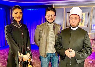 مصطفى عاطف وأسامة الأزهري في ضيافة هبة الأباصيري
