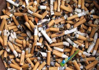 أعقاب سجائر