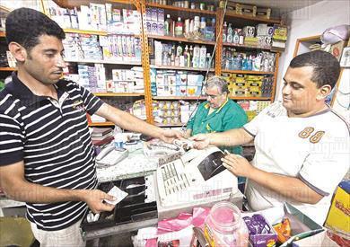 قائمة الأدوية الناقصة تشمل 1700 صنف- تصوير-محمد الميمونى
