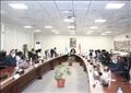 اجتماع وزير التعليم العالي في مدينة زويل